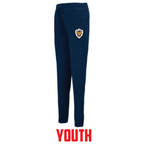 KM Lacrosse YOUTH Augusta (Tapered Leg Pant) Navy