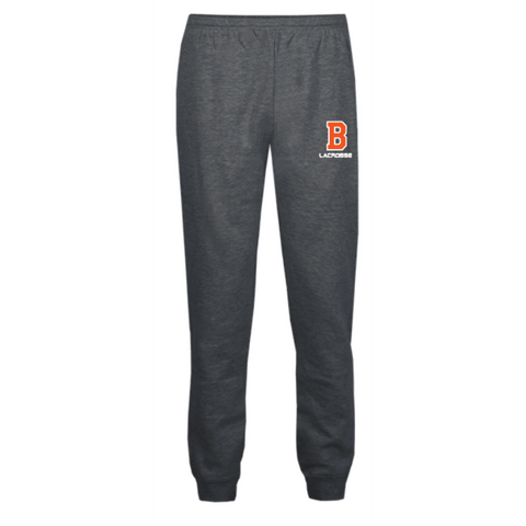 Bridgeland Lacrosse Men's Jogger(ATHLETIC FLEECE JOGGER PANT) Charcoal