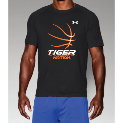 Farmington Basketball Men's Under Armour (Tech™ Short Sleeve T-Shirt) Black