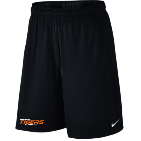 Farmington Basketball Men's Nike (2 POCKET FLY SHORT) Black