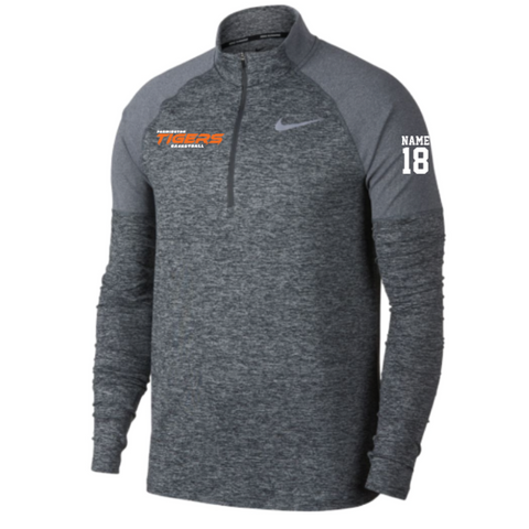 Farmington Basketball Men's Nike (ELMNT TOP HZ 2.0) Gray