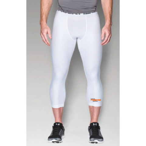 Farmington Basketball Men's Under Armour (HG ARMOUR 2.0 3/4 LEGGING) White