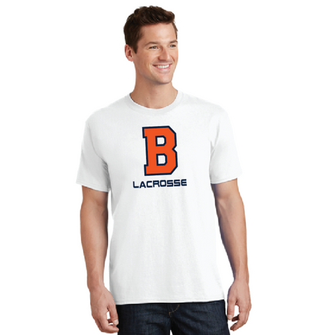 Bridgeland Lacrosse Port & Company (Core Cotton Tee) White