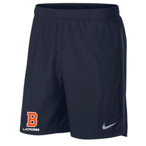 Bridgeland Lacrosse Men's Nike (CHLLGR SHORT BF 9IN) OBSIDIAN