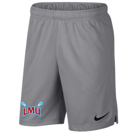 LMU Lacrosse Men's Nike Dri-Fit Pocket Short Gray