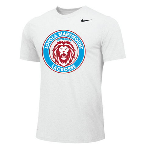 LMU Lacrosse Men's Nike (Legend Poly SS) White