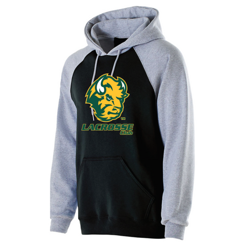 NDSU Lacrosse Adult Holloway (BANNER HOODIE) Gray/Black