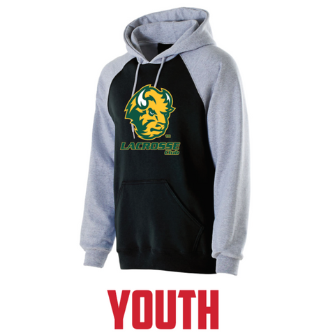 NDSU Lacrosse Youth Holloway (BANNER HOODIE) Black/Gray