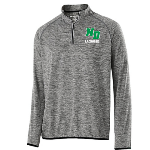 ND Lacrosse Men's Holloway (FORCE TRAINING TOP) Black/Graphite