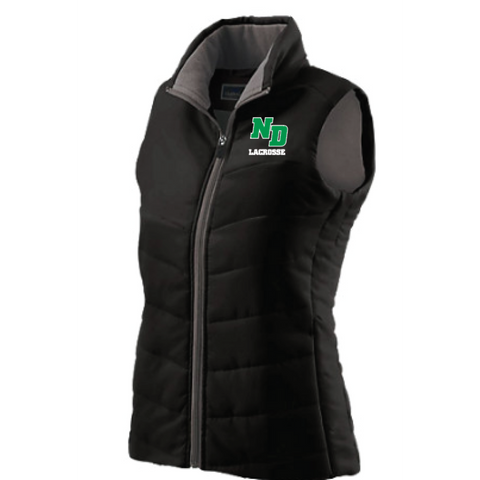 ND Lacrosse WOMEN'S HOLLOWAY (LADIES ADMIRE VEST) Black