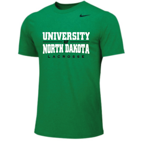 ND Lacrosse Men's Nike (Legend Poly SS) Green