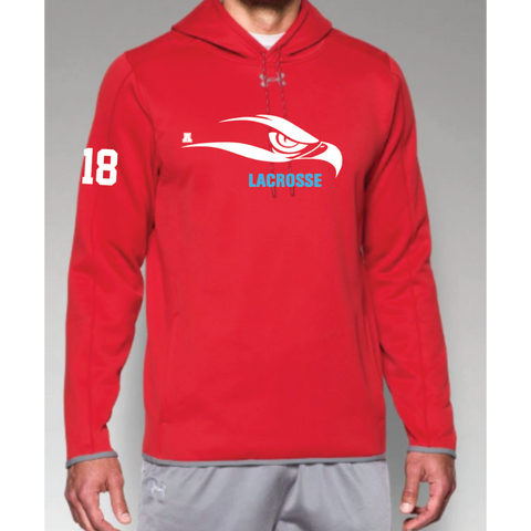 0d67506f1 Arrowhead Lacrosse Men s Under Armour (Double Threat AF Hoody) Red