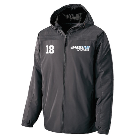 Jefferson Lacrosse Men's Holloway (BIONIC HOODED JACKET) Carbon