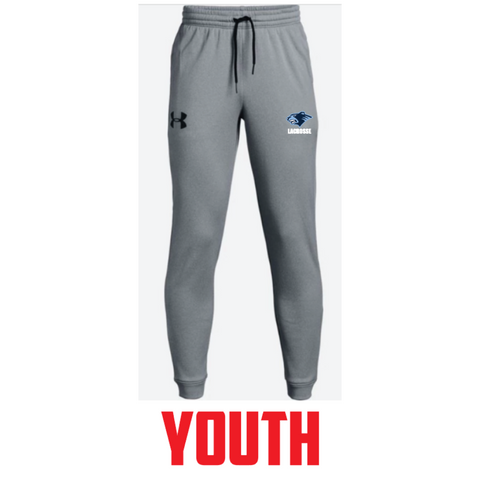 Bloomington Lacrosse Youth Under Armour (Armour Fleece Jogger) Gray