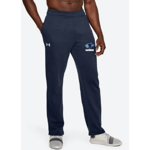 Bloomington Lacrosse Men's Under Armour (Hustle Fleece Pant) Navy