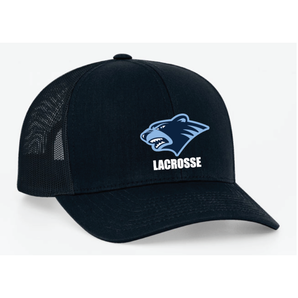 Bloomington Lacrosse Pacific Headwear (TRUCKER MESH) Navy