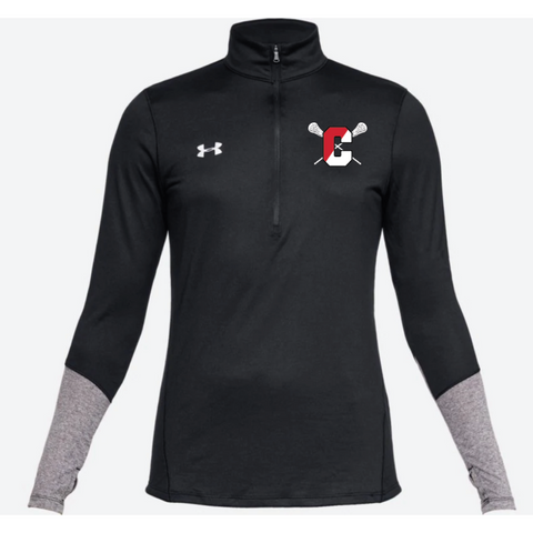 Centennial Lacrosse Women's Under Armour (Locker 1/2 Zip) Black