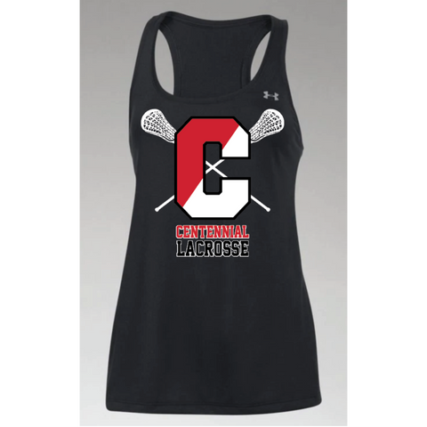 Centennial Lacrosse Women's Under Armour (Tech™ Tank) Black