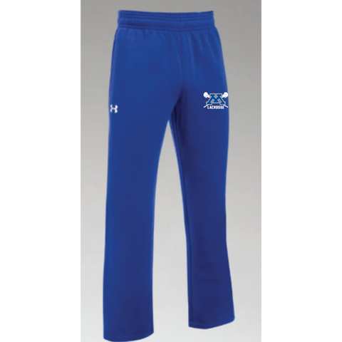 Minnetonka Lacrosse Men's Under Armour (Hustle Fleece Pant) Royal