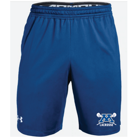 Minnetonka Lacrosse Men's Under Armour (Pocketed Raid Short) Royal