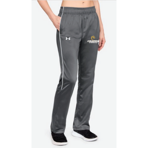 Como Park Gymnastics Women's Under Armour (Rival Knit W-Up Pant) Gray