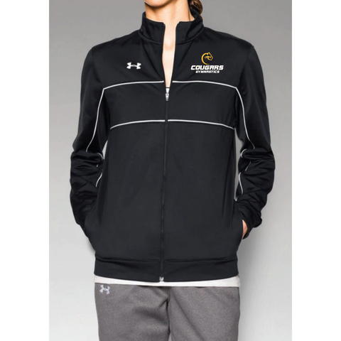 Como Park Gymnastics Women's Under Armour (Rival Knit W-Up Jacket) Black