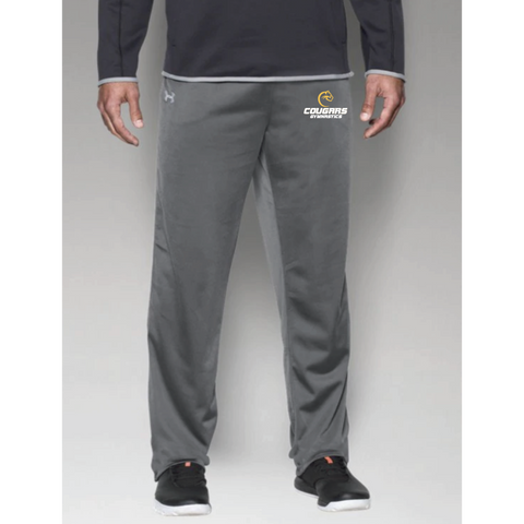 Como Park Gymnastics Men's Under Armour (Rival Knit W-Up Pant) Gray