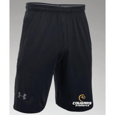 Como Park Gymnastics Men's Under Armour (Raid Short) Black