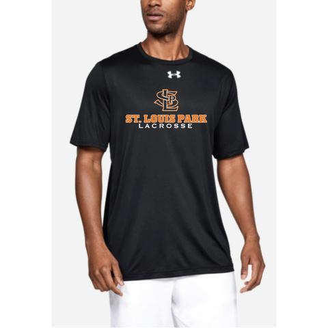 SLP Lacrosse Adult Under Armour (Locker Tee) Black