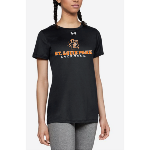 SLP Lacrosse Women's Under Armour (Locker Tee 2.0) Black
