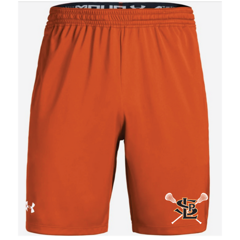 SLP Lacrosse Men's Under Armour (Pocketed Raid Short) Orange