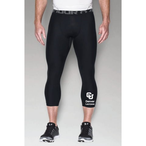 Denver Lacrosse Men's Under Armour (HG ARMOUR 2.0 3/4 LEGGING) Black
