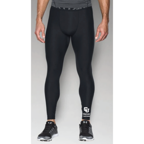 Denver Lacrosse Men's Under Armour (HG ARMOUR 2.0 LEGGING) Black