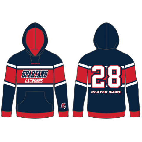 Orono Lacrosse Sublimated Hoodie