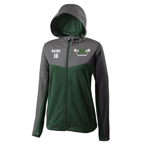 Mayo Lacrosse Women's Holloway (CROSSOVER JACKET) Forest Green