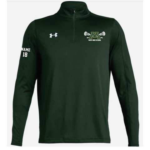 Mayo Lacrosse Men's Under Armour (Locker 1/4 Zip) Forest Green