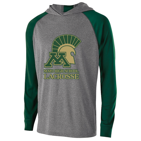 Mayo Lacrosse Men's Holloway (ECHO HOODIE) Forest Green