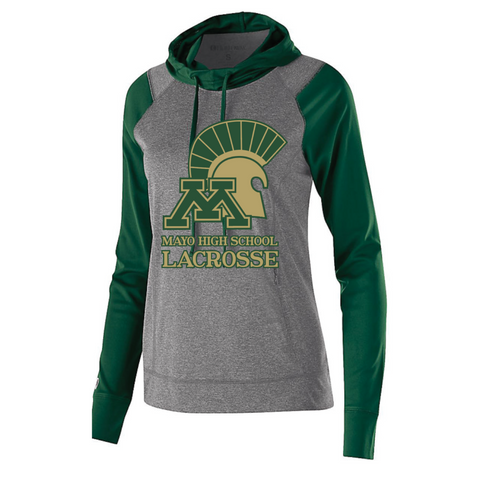 Mayo Lacrosse Women's Holloway (ECHO HOODIE) Forest Green