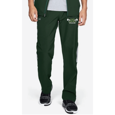 Mayo Lacrosse Men's Under Armour (Squad Wvn W-Up Pant) Forest Green