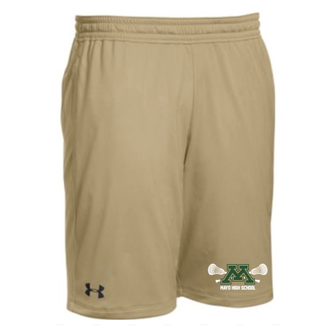 Mayo Lacrosse Men's Under Armour (Pocketed Raid Short) Team Vegas Gold