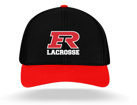 Elk River Lacrosse Pacific Headwear (TRUCKER MESH) - Black/Red