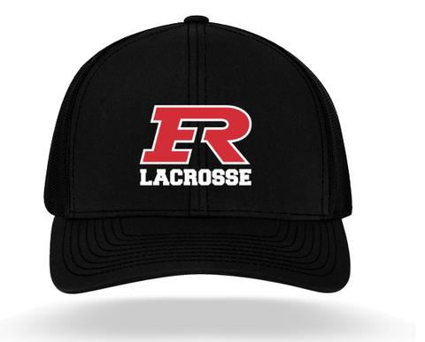 Elk River Lacrosse Pacific Headwear (TRUCKER MESH) - Black