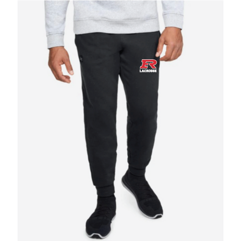 Elk River Lacrosse Adult Under Armour (Rival Fleece Jogger) - Black