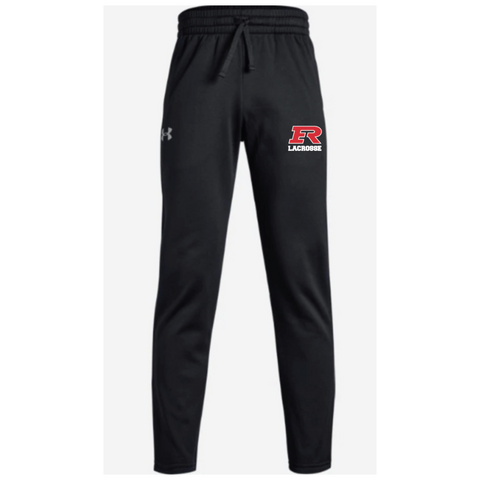 Elk River Lacrosse Youth Under Armour (Fleece Pant) - Black