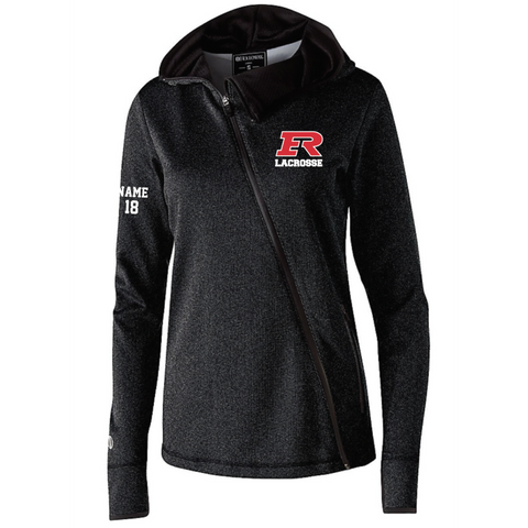 Elk RIver Lacrosse Women's Holloway (ARTILLERY ANGLED JACKET) BLACK