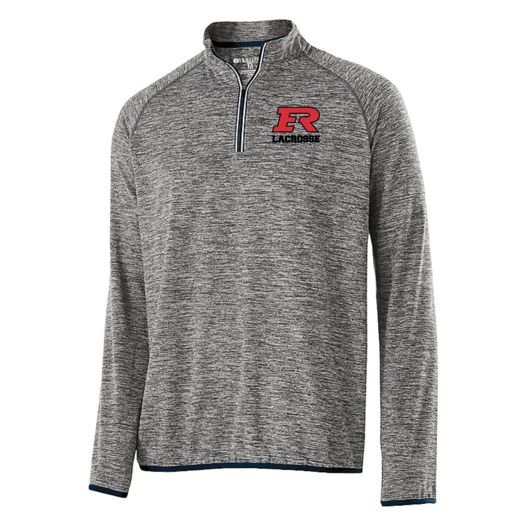 Elk River Lacrosse Men's Holloway (FORCE TRAINING TOP) - Black/Graphite