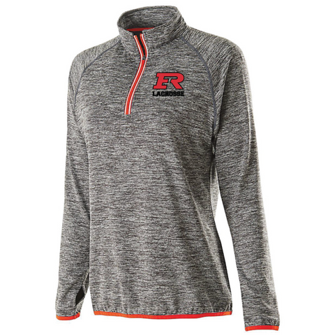 Elk River Lacrosse Women's Holloway (FORCE TRAINING TOP) - Red/Graphite