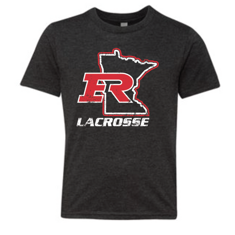 Elk River Lacrosse Youth Next Level (Poly/Cotton Crew) - Charcoal
