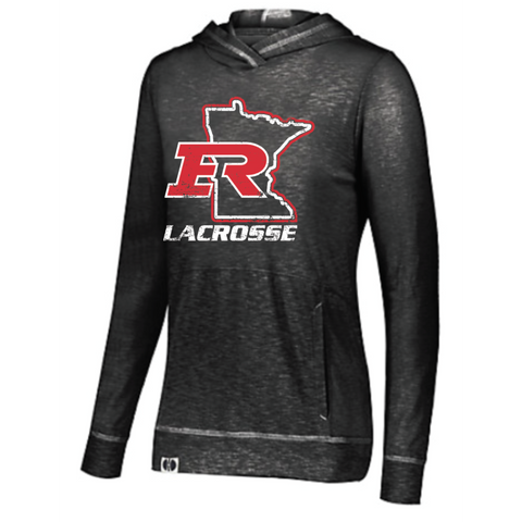 Elk River Lacrosse Ladies Holloway Jourey Hoodie - Black