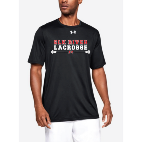 Elk River Lacrosse Adult Under Armour (Locker Tee) - Black